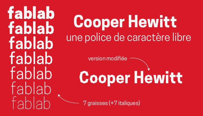 cooper hewitt modifiée